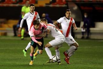 Riqui Puig chamou a atenção de Mourinho. EFE/Kiko Huesca