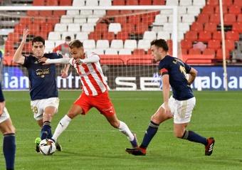 El fichaje de Fran Villalba convence en el Sporting. EFE