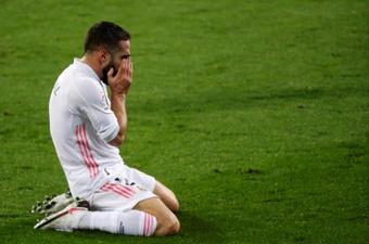 Carvajal ya se ha perdido 15 partidos por lesión esta temporada. EFE