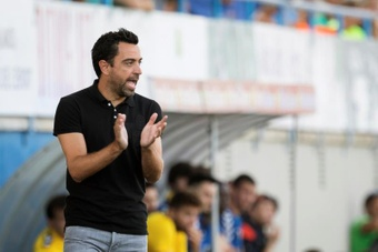 El español Xavi Hernández, entrenador del Al-Sadd catarí. EFE