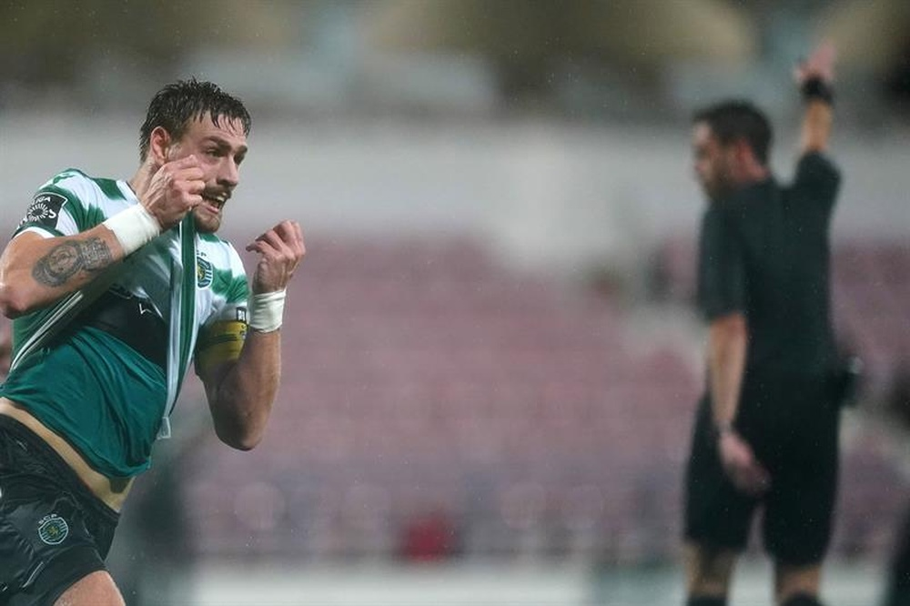 Coates da al Sporting un triunfo de leyenda. EFE/Archivo