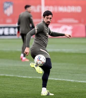 El defensa montenegrino del Atlético de Madrid Stefan Savic. EFE