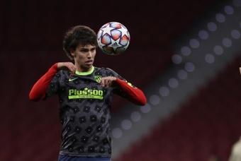 Joao Félix se ve entre los mejores jugadores del mundo en un futuro. EFE