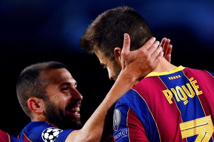 Jordi Alba follows Pique's example and cuts his salary. EFE