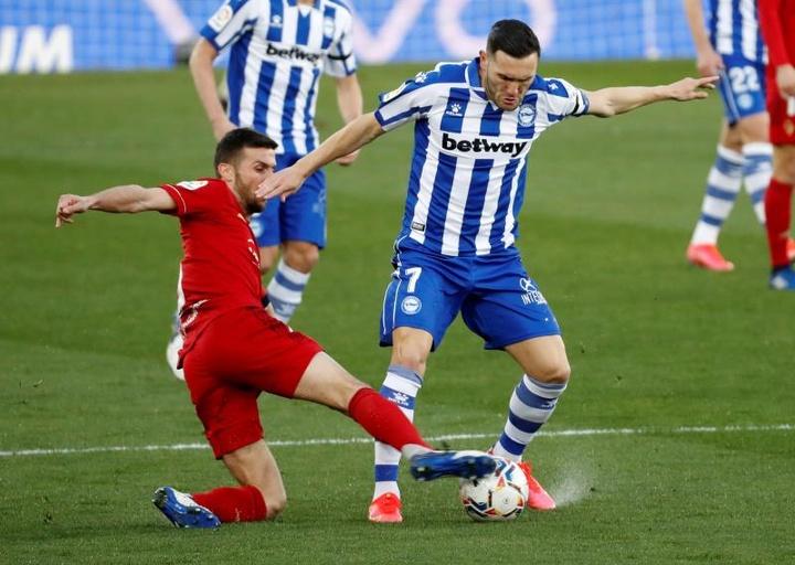El Mallorca también se interesa en Lucas Pérez. EFE