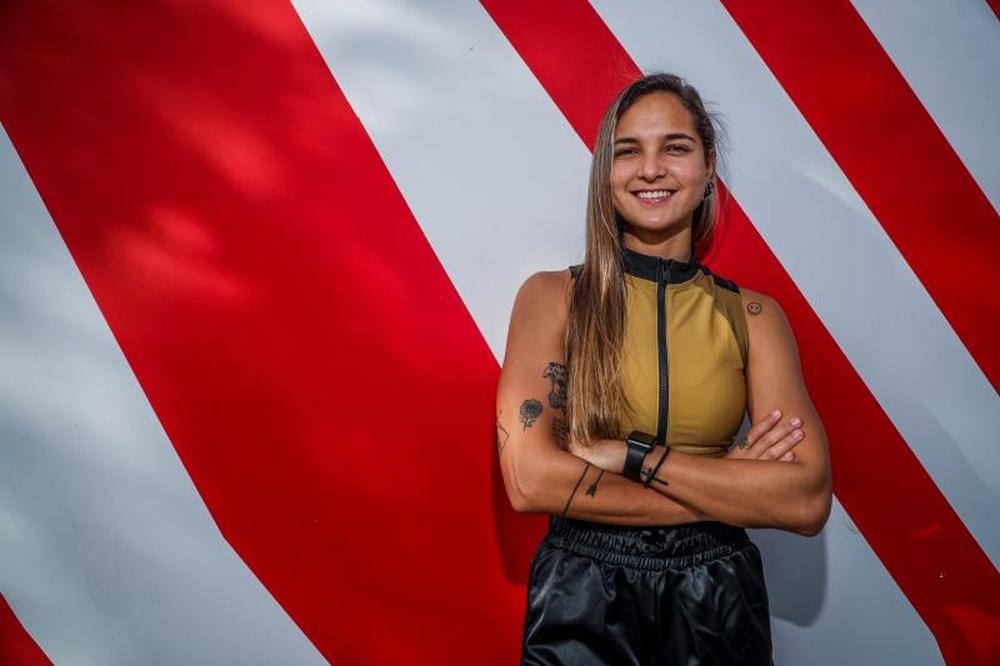 Deyna Castellanos rejoint le mouvement dénonçant les abus sexuels de son ex-sélectionneur. EFE