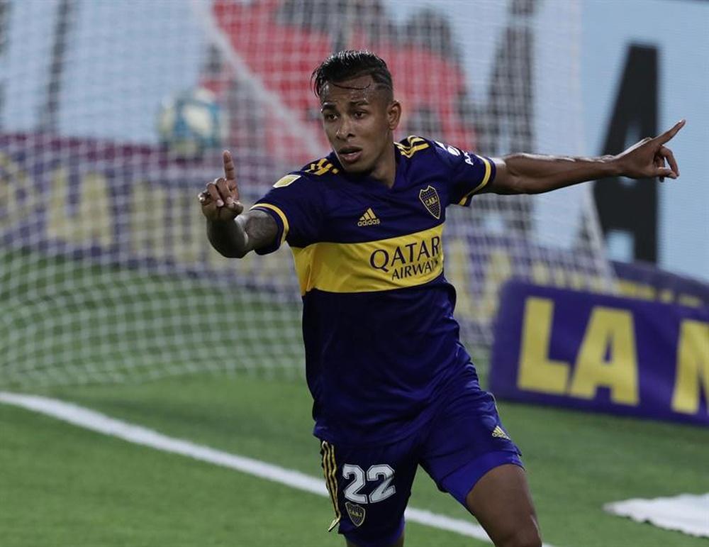 Sebastián Villa será sancionado. EFE