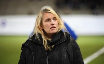 Emma Hayes, entrenadora del Chelsea, habló del machismo en la sociedad. EFE