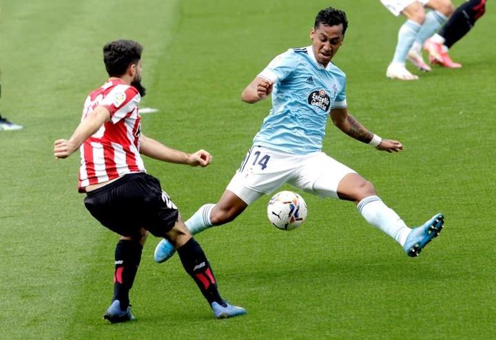 Renato Tapia sera prêt pour le début de la saison. EFE
