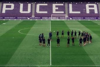 El Valladolid ha ganado cinco de los seis partidos ante el Alcorcón. EFE