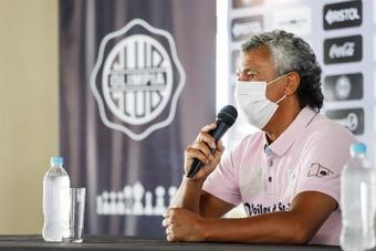 Gorosito podría ser el nuevo entrenador de Gimnasia. EFE