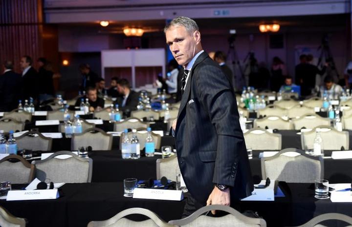 Van Basten criticó la titularidad de Werner en el Chelsea. EFE