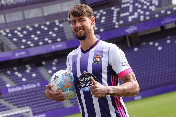 Luis Pérez podría estar hasta tres semanas de baja. EFE/Archivo