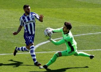 Luis Rioja expresó que el empate ante el Betis era lo más justo. EFE