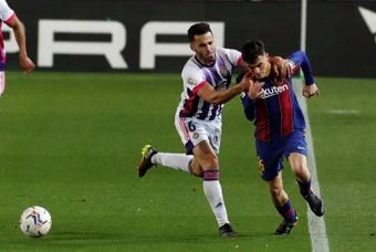 Barcelona want to nail down Pedri until 2024. EFE