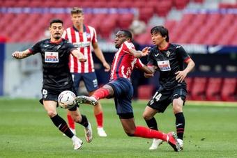 Kondogbia, aun sin minutos, sintió el respaldo del club en todo momento. EFE