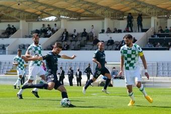 Mario González, entre los elegidos para ser el mejor de Portugal. EFE