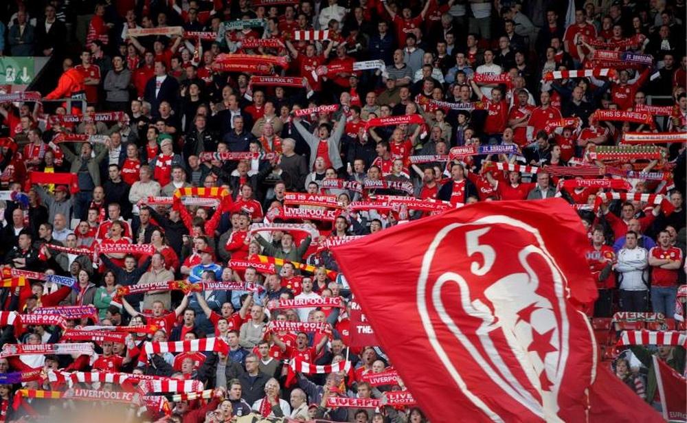 3.100 aficionados irán al Wanda Metropolitano a apoyar al Liverpool. EFE