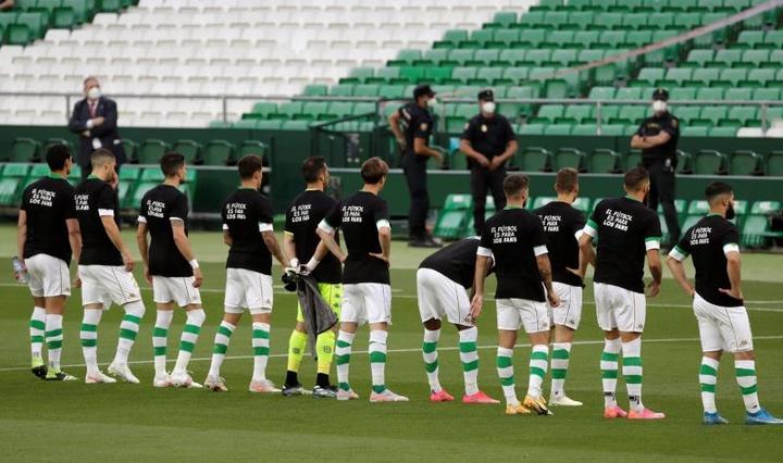 El Betis encabeza esta suerte de alianza de clubes verdiblancos. EFE/Archivo