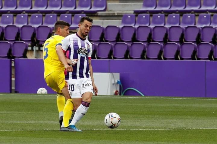 El miedo a ganar deja al Valladolid en el abismo. EFE/Raúl García