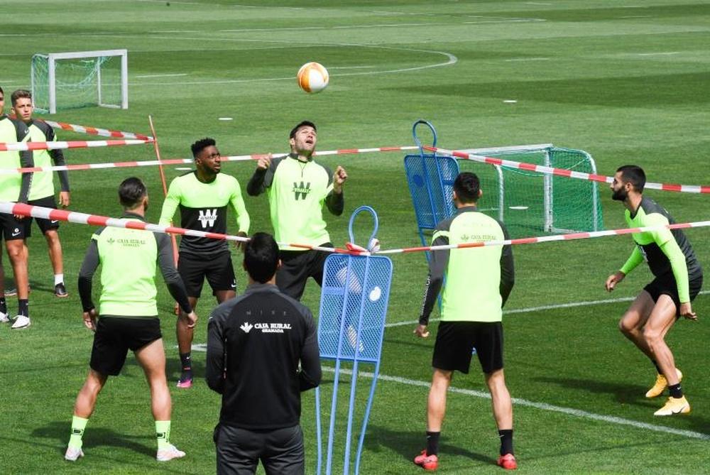 El Granada afronta una semana sin compromiso de Liga. EFE