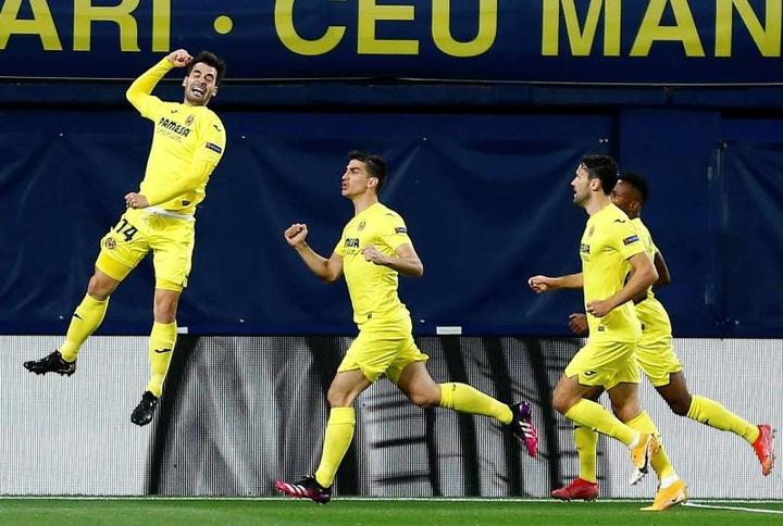 Villarreal vence o Arsenal em casa. EFE/Domenech Castelló