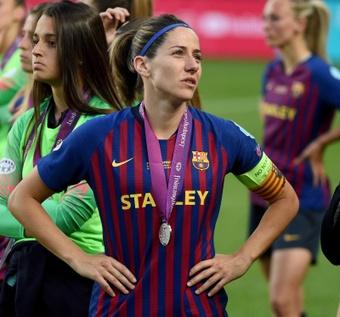 Tras defender la camiseta azulgrana 16 temporadas, Vicky Losada abandona el Barcelona. EFE