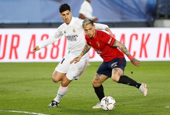Moncayola y Chimy Ávila son dos de los objetivos prioritarios de Osasuna. EFE