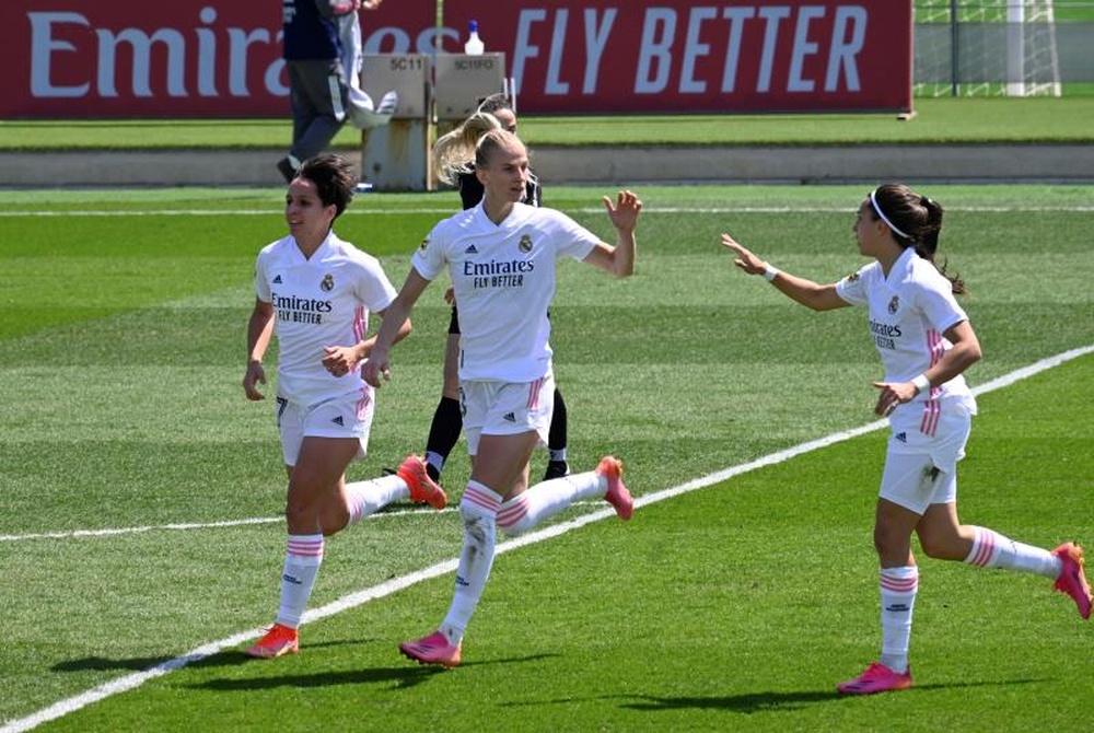 Real Madrid, Athletic y Barça exigieron tener el control de la Liga Femenina. EFE