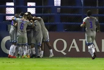 12 de Octubre le empató a San Lorenzo en Argentina. EFE
