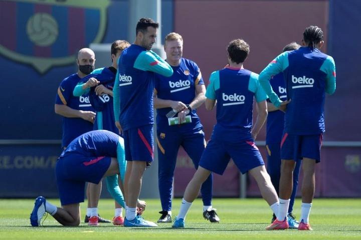 El Barcelona se interesó en un jugador del Valladolid. EFE