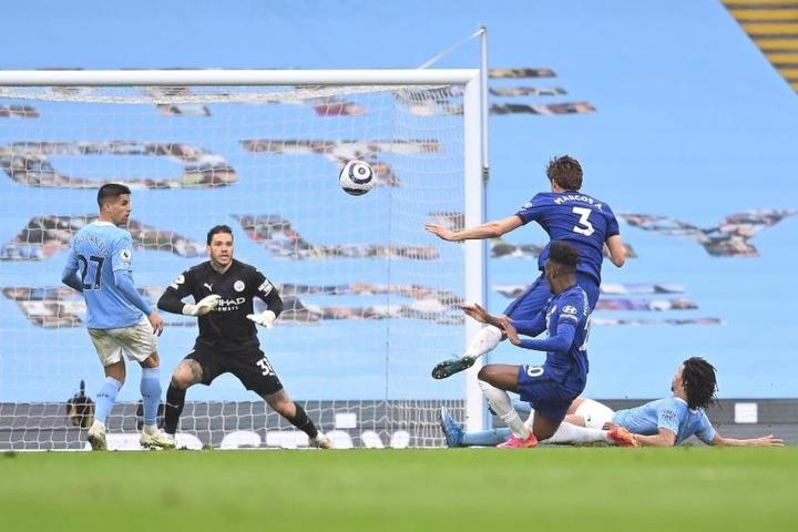 El Chelsea se fue sonriendo del ensayo de cara a la final de Champions. EFE/EPA