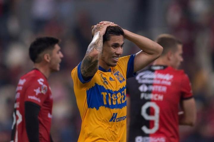 Carlos Salcedo suena para jugar en la Ligue 1. EFE