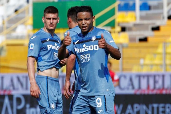El Atalanta hizo un 2-5 al Parma y encarrila el segundo puesto. EFE