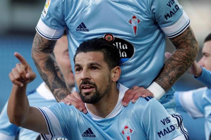 Nolito : 'Il y a de l'envie et de l'ambition.' EFE/Salvador Sas