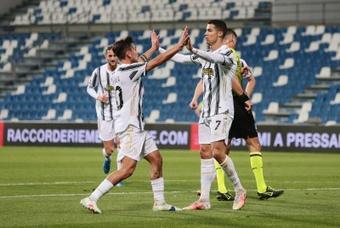 La Juventus se impuso al Sassuolo. EFE