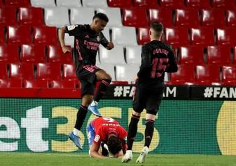 Il Real vince a Granada. AFP