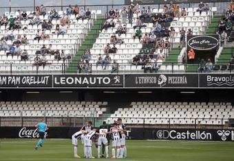 El Castellón consiguió su primera victoria de la temporada en Castalia. EFE/Archivo
