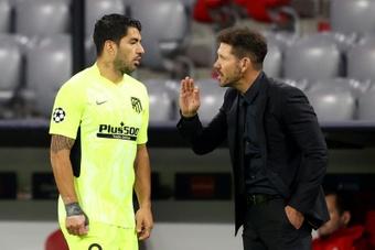 Simeone volvió a explicar más detalles de su equipo. EFE
