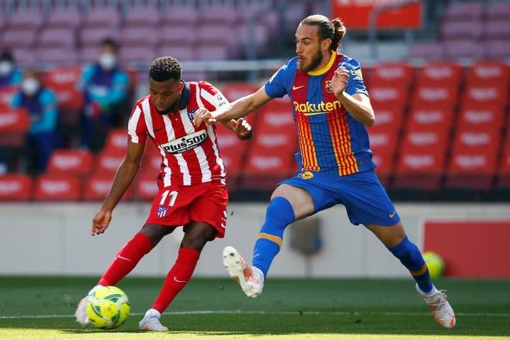 Mingueza vise la médaille d'or avec l'Espagne. EFE
