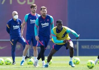 El Barça rechazó una oferta por Ilaix. EFE