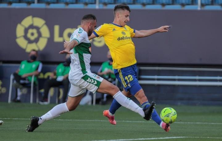 Verdú pourrait rejoindre Almería. EFE