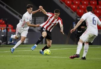 Lertxundi criticó la suspensión del partido del Athletic. EFE