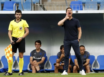 Xabi Alonso analizó el empate. EFE
