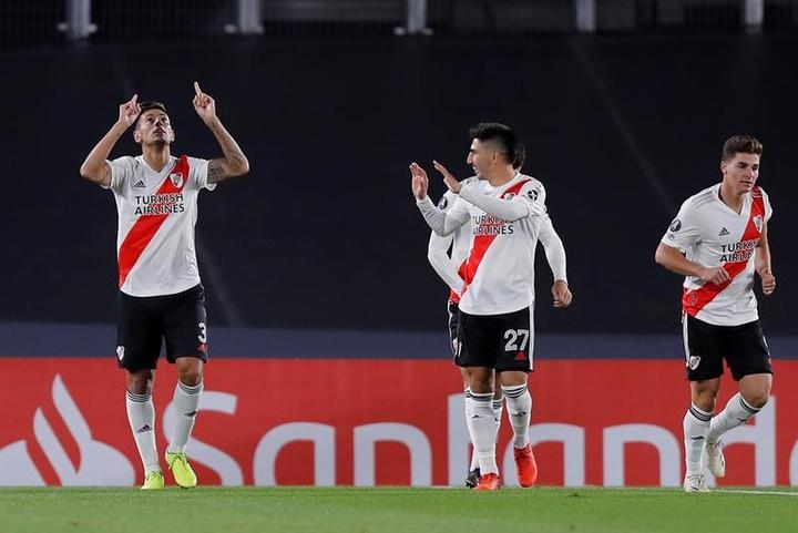 River Plate bate récords en las redes sociales. EFE