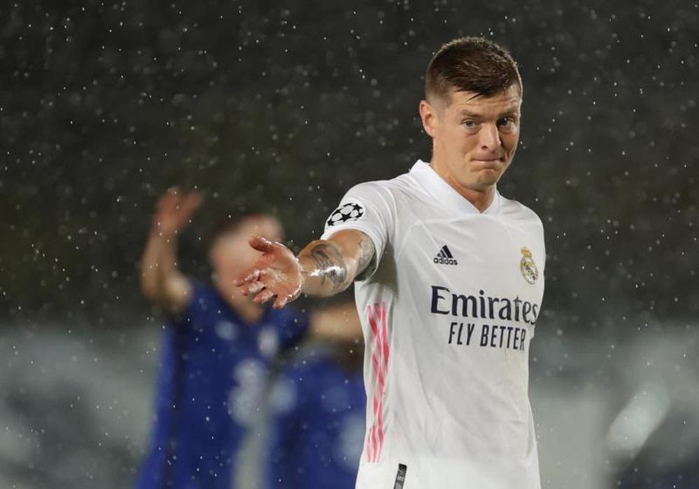 Kroos repasó la actualidad del Madrid y su estado físico. EFE