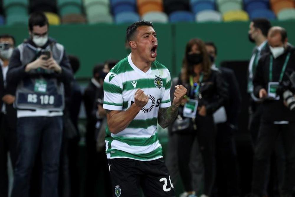 Pedro Porro named defender of the month. EFE