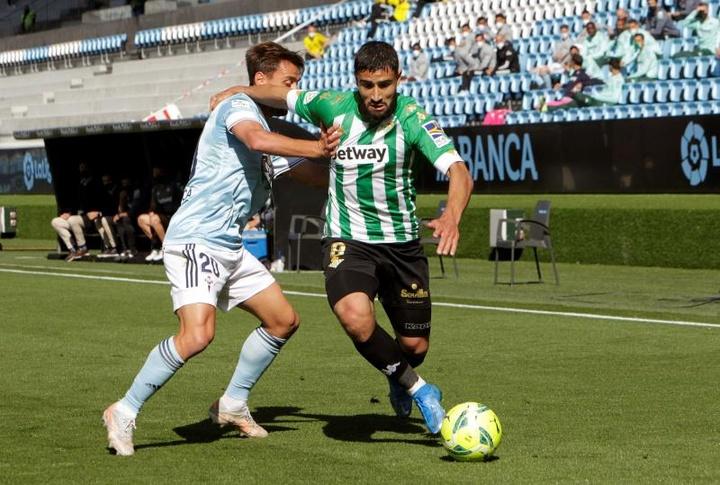 Fekir hereda el trono ofensivo Messi. EFE/Salvador Sas
