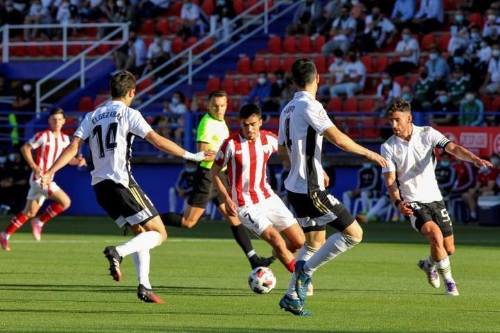 Fran García no estará disponible para su técnico por lesión. EFE