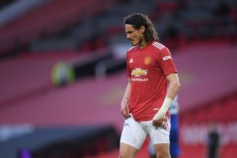 Cavani tem motivos de sobra para deixar o United. AFP